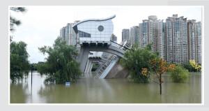 استمرار الفيضانات فـي الصين ورفع مستوى التحذير بشأن نهر هواي