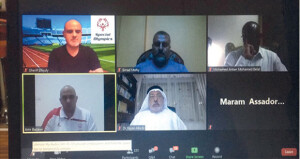 الأولمبياد الخاص العماني يشارك في دورة تدريبية لأم الألعاب على المنصة الافتراضية