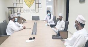 اللجنة الشبابية بالخابورة تنفذ خمسة برامج تعليمية تثقيفية عن بُعد