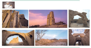 عدسة عدنان البلوشي توثق أبراج وأسوار ولاية بركاء