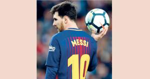 رئيس برشلونة يؤكد وجود «واجب» لتجديد عقد ميسي