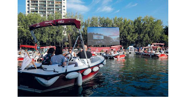 سينما على نهر السين