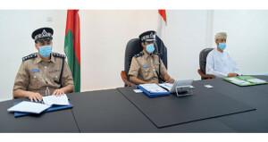 شرطة عمان السلطانية تشارك فـي اجتماع اللجان المتخصصة فـي مجلس وزراء الداخلية العرب