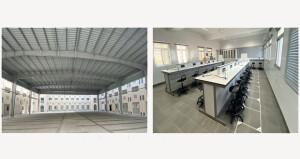 استلام مبنى مدرسي جديد بالسيب لتقليل الكثافة الطلابية