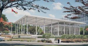 مصمم بطابع معماري حديث ويقام على مساحة 550 ألف متر مربع إرساء عقد الأعمال الإنشائية لمركز تجربة العملاء بمدينة العرفان