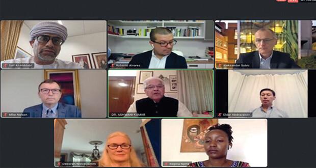 مجلس البحث العلمي يشارك فـي جلسة حوارية للاتحاد الدولي للمجالس التنافسية