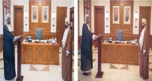 عدد من قضاة المحكمة العليا يؤدون اليمين القانونية أمام رئيس المحكمة