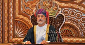 جلالة السلطان يصدر سبعة مراسيم سامية