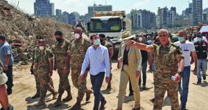 الأمم المتحدة قلقة من المخلفات السامة لانفجار بيروت