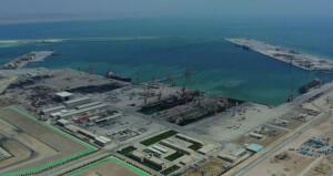 68.8% إنجازا في محطة تخزين وتصدير المواد البترولية بميناء الدقم