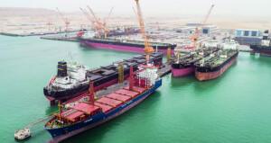 ميناء الدقم جاهز لعمليات التشغيل التجارية بنسبة 100%