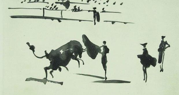 سلسلة من روائع نقوش بيكاسو في بلجيكا تسرد فن صراع الثيران