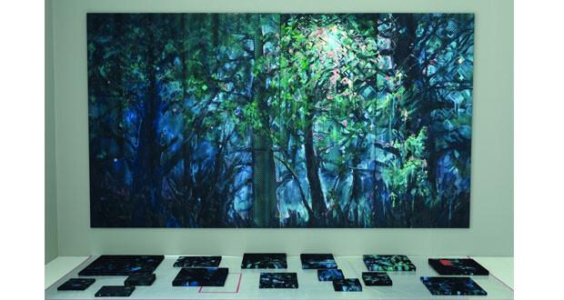 """بيت الزبير يفتتح المعرض الفني الافتراضي """"تشفير المناظر الطبيعية"""" لـ """" دافينا دي بيير"""""""