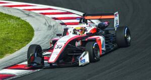 شهاب الحبسي يدشن سباقات بطولة أوروبا المفتوحة للفورمولا 3