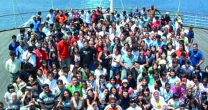 سفينة شباب العالم تحتفي باليوم العالمي للشباب