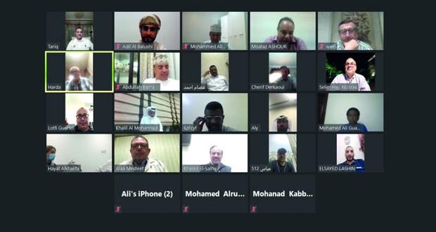 اتحاد الطاولة يشارك في اجتماعات الاتحاد العربي لكرة الطاولة