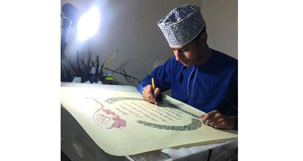 حسين الروشدي: جمالية الخط العربي عنصر مؤثر بحياتي الفنية والأدبية