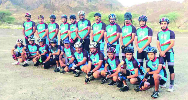 فريق دراجـــو إزكي يسعى لنشر ثقافة ممارسة الرياضة وتعزيز الصحة