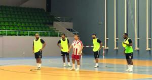 منتخبنا الوطني لقدم الصالات يواصل تدريباته اليومية بمعسكره لرفع معدل اللياقة البدنية للاعبين