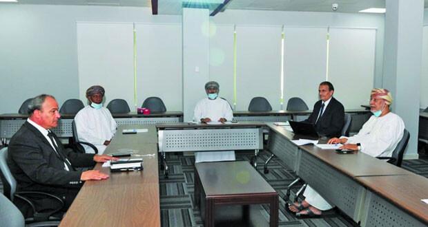 لجنة التخطيط والمتابعة تستعرض خطة اللجنة الأولمبية للمشاركة في الدورات الخارجية