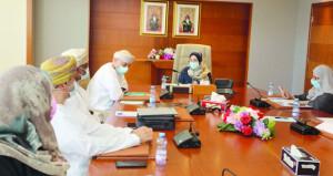 وزيرة التعليم العالي والبحث العلمي والابتكار تناقش سبل التعاون المشتركة مع (أوكيو)