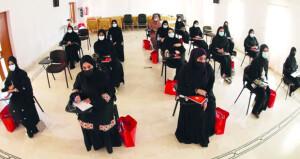 تواصل فعاليات دورة التدريب الآسيوية للمستوى c لمدربات كرة القدم النسائية بمشاركة ٢٠ معلمة