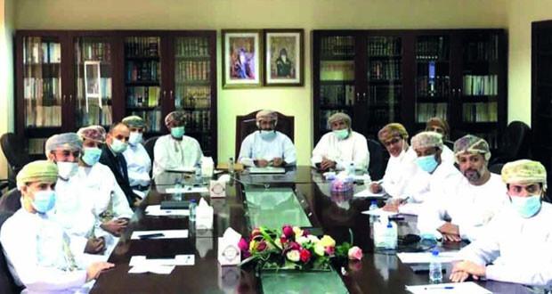 عقد إجتماع الجمعية العامة لمحاكم الإستئناف والإبتدائية بصلالة وثمريت