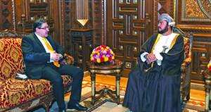 توديع سفيري الأردن وقبرص