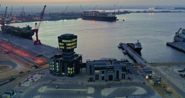 ميناء الدقم جاهز لعمليات التشغيل التجارية بنسبة 100 بالمئة