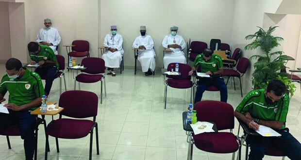 لجنة الحكام باتحاد الكرة تجري اختبارات الترشح لنيل الشارة الدولية لحكم مساعد