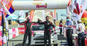 عبدالله الرواحي يحتفظ بالمركز الثاني في بطولة الشـرق الأوسط للراليات