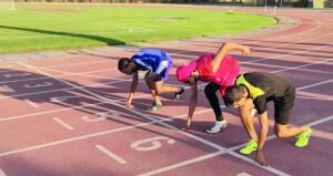 منتخب ألعاب القوى لذوي الإعاقة يبدأ تدريبات الجري والوثب بمضمار جامعة السلطان قابوس