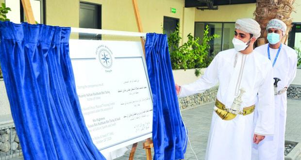 وزير الثقافة والرياضة والشباب يفتتح مركز التدريب الوطني لأوتورد باوند عمان بالخوض