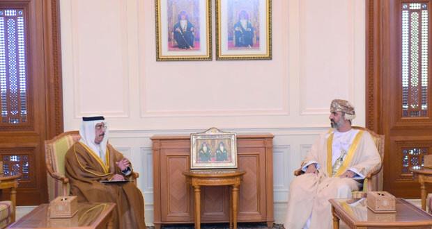 رئيس مجلس الشورى يتسلم رسالة خطية من رئيس المجلس الوطني الاتحادي بدولة الامارات