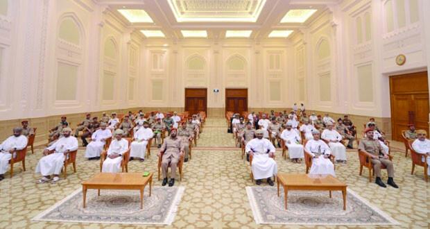 رئيس مجلس الدولة يستقبل وفدا من كلية الدفاع الوطني