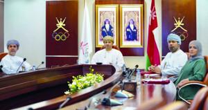 في الاجتماع الـ32 لرؤساء اللجان الأولمبية الخليجية