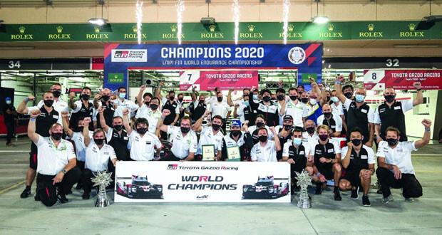 """فريق """"جازو للسباقات""""يفوز ببطولة العالم للتحمل"""