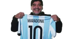 """قميص مارادونا في مباراة الفوز على إنجلترا خلال مونديال 1986 """"ليس للبيع"""""""