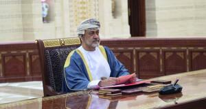 جلالة السلطان يتلقى اتصالا هاتفيا من ملك البحريـن