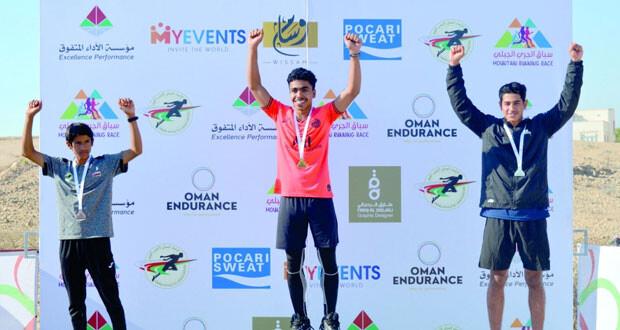 القريني يتوج بلقب سباق اختراق الضاحية للمسارات الجبلية بمشاركة 124 عداء