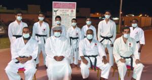 نادي بهلاء يكرم الحاصلين على الحزام الأسود بأكاديمية الكاراتيه