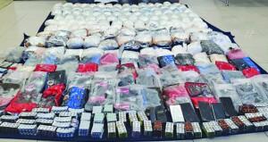 ضبط 170 كيلوجراما من المخدرات وأكثر من 10 آلاف قرص