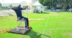 اليوم .. منتخبنا الوطني للأشخاص ذوي الإعاقة لألعاب القوى يبدأ مشاركته في بطولة فزاع الدولية