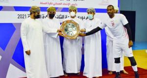 نادي عمان يُتوّج بطلًا لدوري الدرجة الثانية للكرة الطائرة