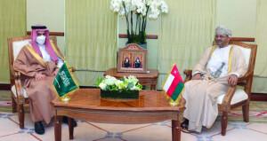 جلسة مشاورات ثنائية بين السلطنة والمملكة العربية السعودية