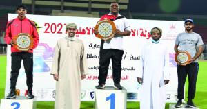 تنافس وإثارة كبيرة في ختام بطولة الفرق الأهلية لألعاب القوى