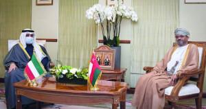 جلسة مشاورات ثنائية بين السلطنة ودولة الكويت
