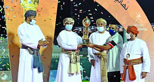 أهلي سداب يحصد اللقب رقم 12 وبوشر يحصد الوصافة والسيب في المركز الثالث في نهائي كأس جلالته للهوكي