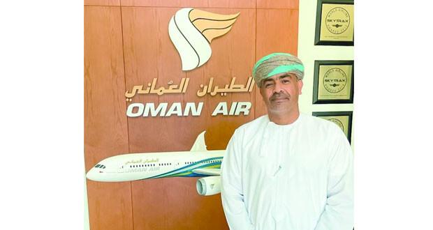 الطيران العماني يعين الكابتن ناصر السالمي رئيساً تنفيذيا للعمليات