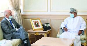 وزير الصحة يستقبل ممثل صندوق الأمم المتحدة للسكان